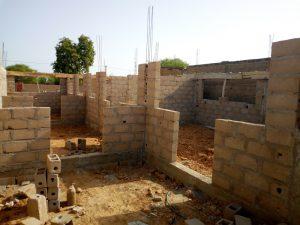 De nieuwbouw in Togo Tilé
