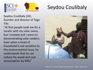 Uitspraak van Seydou Coulibaly in de Webinar